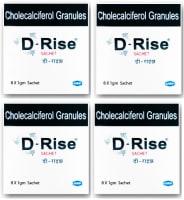 D-Rise Granules Pack of 4