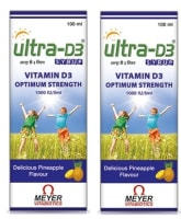 Ultra-D3 Syrup Pack of 2