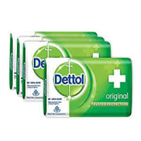 Dettol Original Soap 4x75g with Price Off