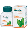 Himalaya Wellness Pure Herbs Vasaka Respiratory Wellness Tablet