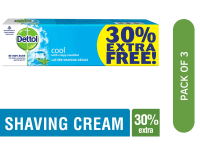 Dettol Cool Shaving Cream Pack of 3