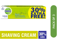 Dettol Fresh Lather Shaving Cream Pack of 3