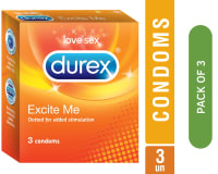 Durex Excite ME Condom Pack of 3