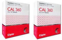 Cal 360  Tablet Pack of 2