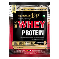 MuscleXP 100% Whey Protein with Digestive Enzymes Cafe Mocha