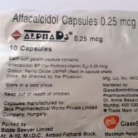 Alpha D3 0.25mcg Capsule
