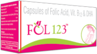 Fol 123 Soft Gelatin Capsule