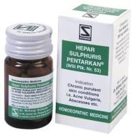 Dr Willmar Schwabe Hepar Sulphuris Pentarkan Tablet