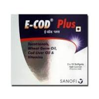 E-Cod Plus Soft Gelatin Capsule