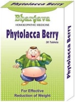 Bhargava Phytolacca Berry Tablet