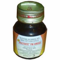 Multivite FM Omega Soft Gelatin Capsule
