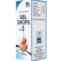 SBL Drops No. 5 (for Cervical Pain)
