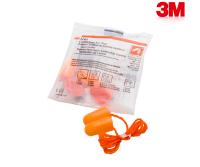 3M 1110 Corded Foam Earplugs (Pack OF 5)