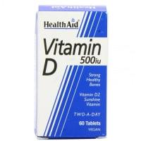 Healthaid Vitamin D 500IU Tablet