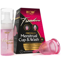 WOW Freedom Reusable Menstrual Cup and Wash M