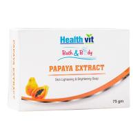 HealthVit Bath & Body Papaya Extract Soap