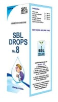 SBL Drops No. 8 ( for Allergic Rhinitis)