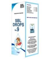 SBL Drops No. 9 ( for Cough)