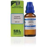 SBL Aconite Napellus Dilution 200CH