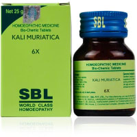 SBL Kali Muriatica Biochemic Tablet 6X