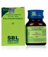 SBL Kali Phosphorica Biochemic Tablet 6X