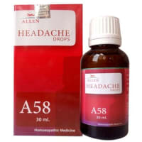 Allen A58 Headache Drop