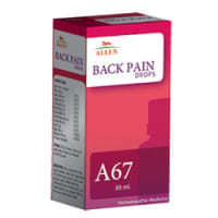 Allen A67 Back Pain Drop