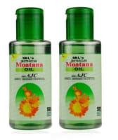 SBL Arnica Montana Hair Oil with Tjc Pack of 2