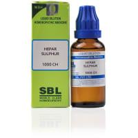 SBL Hepar Sulphur Dilution 1000CH