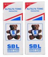 SBL Alfalfa Tonic Paediatric Pack of 2