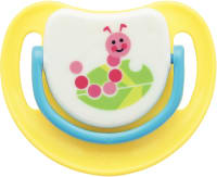 Pigeon Silicone Pacifier Step 2, Caterpillar