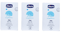 Chicco Baby Moments Soap Pack of 3