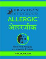 Dr. Vaidya's Allergic Pills Pack of 4