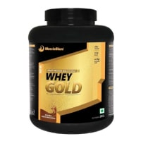 MuscleBlaze Whey Gold Rich Milk Chocolate