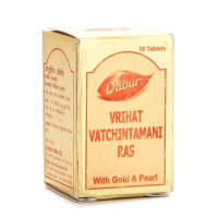 Dabur Vrihat Vatchintamani Ras with Gold and Pearl Tablet