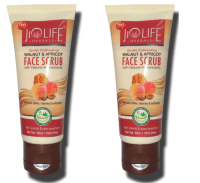 Jiolife Walnut and Apricot Face Scrub Pack of 2