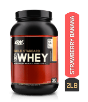 Optimum Nutrition (ON) Gold Standard 100% Whey Strawberry Banana