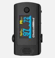 ChoiceMMed MD300CF3 Fingertip Pulse Oximeter with Alarm