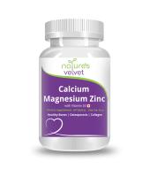 Nature's Velvet Calcium, Magnesium, Zinc with Vitamin D3 Tablet