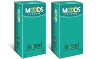 MOODS Dotted  Condom Pack of 2