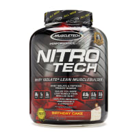Muscletech Nitrotech Performance Series Birthday Cake