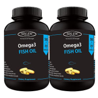 Sinew Nutrition OMEGA 3 FISH OIL 500MG Capsule Pack of 2