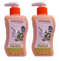 Patanjali Anti-Bacterial Herbal Handwash Pack of 2