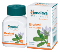 Himalaya Wellness Pure Herbs Brahmi Mind Wellness Tablet Pack of 3