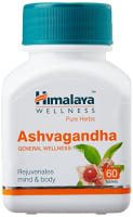 Himalaya Wellness Pure Herbs Ashvagandha General Wellness Tablet