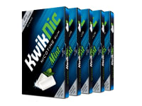 KwikNic 2mg Chewing Gums Mint Pack of 5