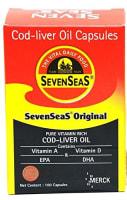 Seven Seas Original Cod Liver Oil Capsule