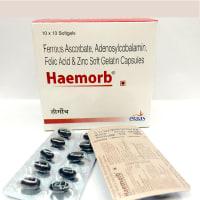Haemorb Soft Gelatin Capsule