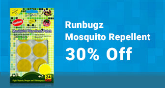 Runbugz mosquito repellents