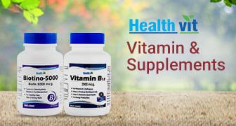 Healthvit Vitamin & Supplements